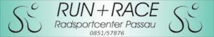 Run + Race Logo