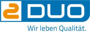 Duo Slogan Logo